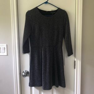 Banana Republic Grey Tweed Dress
